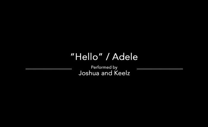 ADELE HELLO JOSHUA