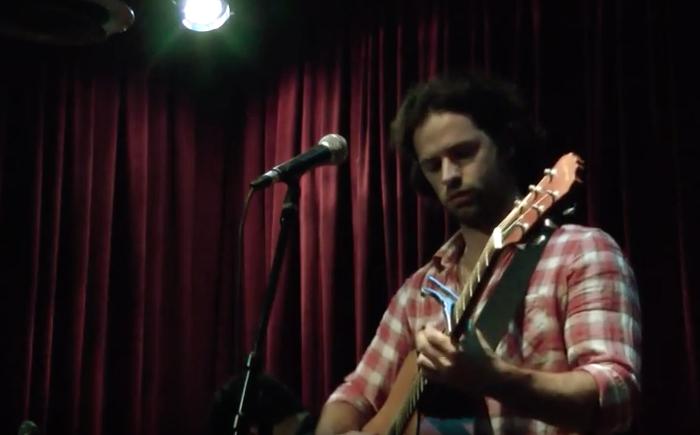Joshua plays Hallelujah at Jeff Buckley Tribute